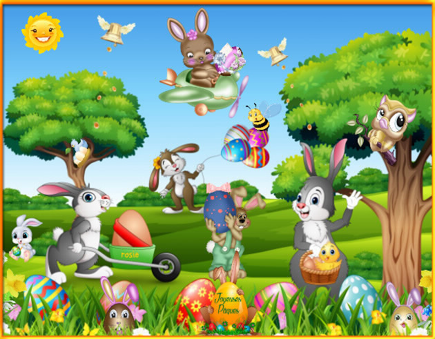joyeuses pâques à toutes et tous