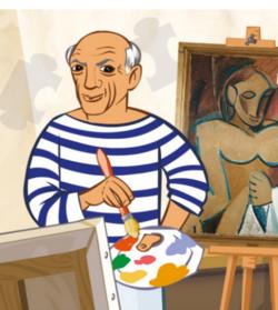 Au musée de Pablo Picasso