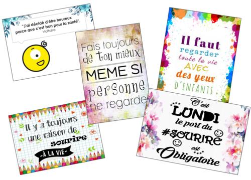 Les affiches-citations de Zaboucome