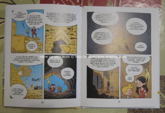 Le fil de l'histoire raconté par Ariane et Nino