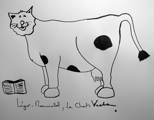 Léger-Romuald, Le Chat-Vache
