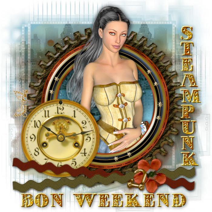 Bon Weekend Steampunk