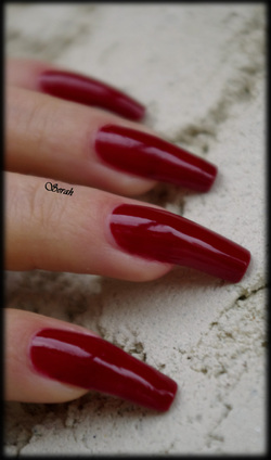Swatch OPI Quarter of a Cent-Cherry!