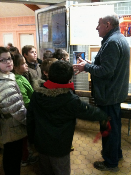 Visite de l'exposition sur le bois