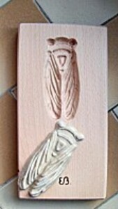 Cuisine créative: moule à biscuit cigale - Arts et Sculpture: sculpteur sur bois