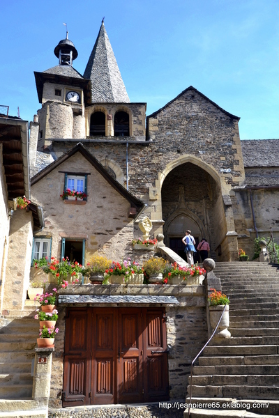 2015.08.22 Espalion, Estaing, St-Geneviève Sur Argence, barrage Sarrans (Aveyron)