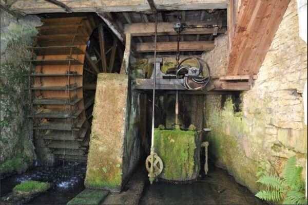 Visite guidée du Moulin de la Fleuristerie à Orges avec l'OT de Châtillon-sur-Seine