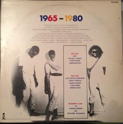 Radical! Basement 5 - 1965/1980 - In Dub (1980 Ed 1992)