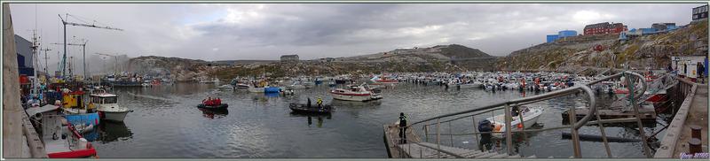Débarquement à Ilulissat et départ pour le balade vers le glacier Isfjord (Icefjord) via la Baie de Sermermiut - Baie de Disko - Groenland