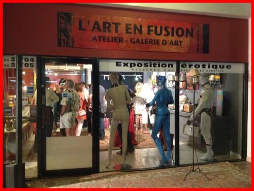 Expo erotique à la Galerie