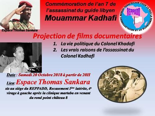 les vrais raisons de l'assassinat de Khadafi