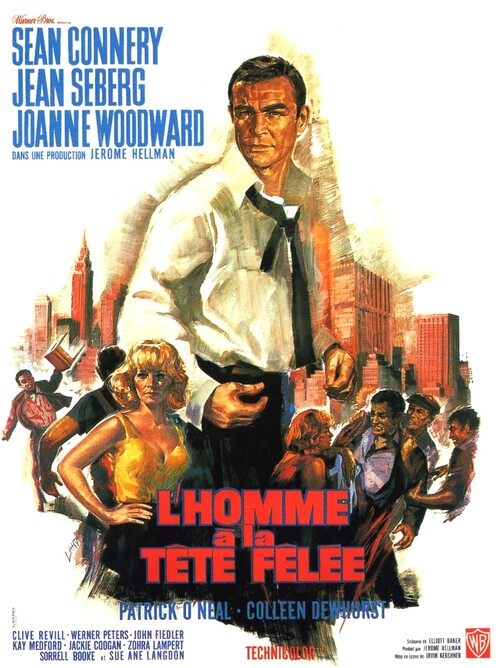 L' HOMME A LA TETE FELEE - BOX OFFICE SEAN CONNERY 1966