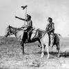 Many Shoots (Kainai Blackfot) and White Headed Chief (Siksika Blackfoot),Reserve in Alberta 1921