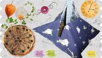 Pissaladière et sac à tarte