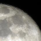 Zoom sur une pleine lune - 2 - Photo : Michaël