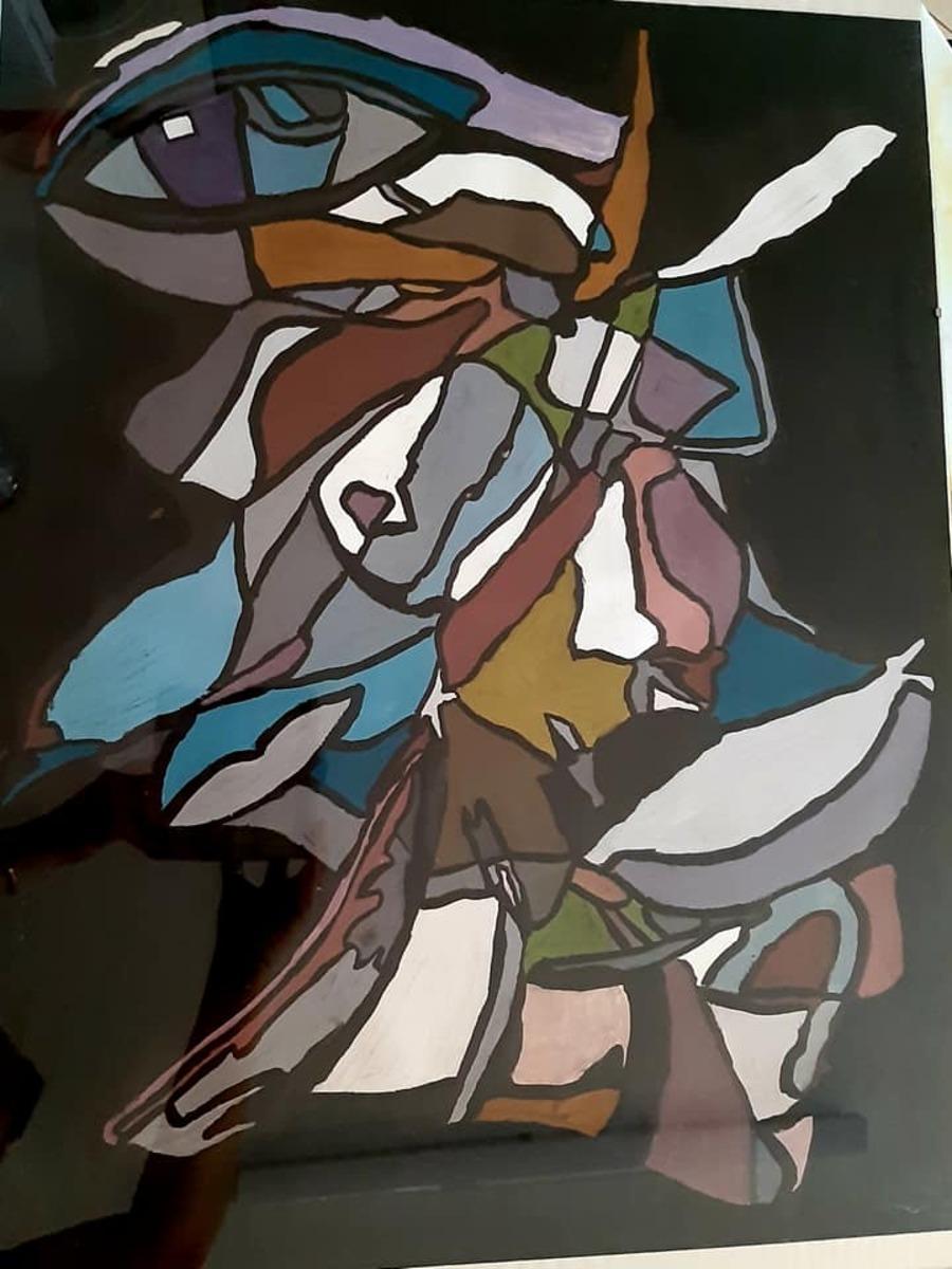 Concours de peinture...Style Picasso