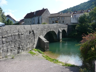 Ornans - Pont de Nahin