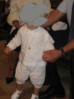 tenue de baptême