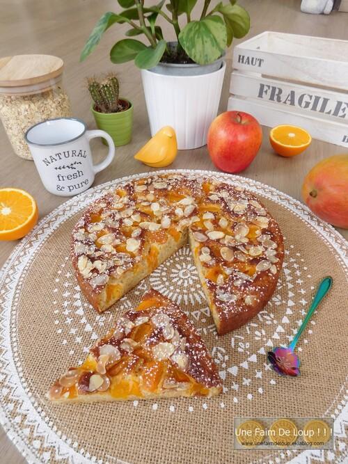 Moelleux léger abricot / avoine