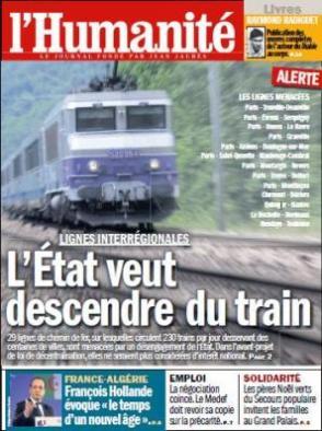 L'Elysée fait dérailler la SNCF