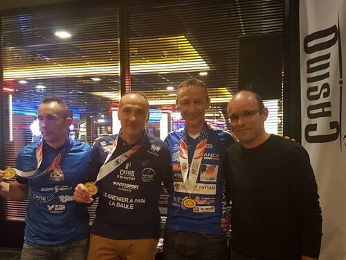 Le Casino de Pornichet honore ses champions du monde