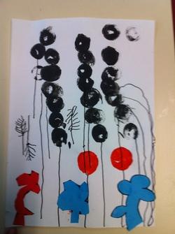 Le trait vertical (et pas que!) avec Calder