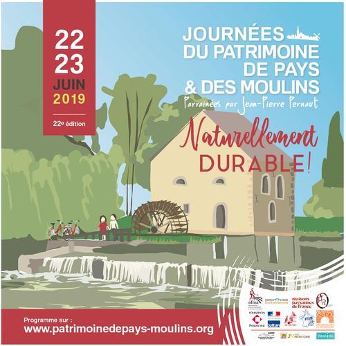 Journées du Patrimoine et des Moulins 2019