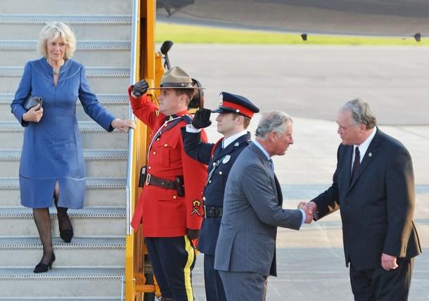 Charles et Camilla au Canada