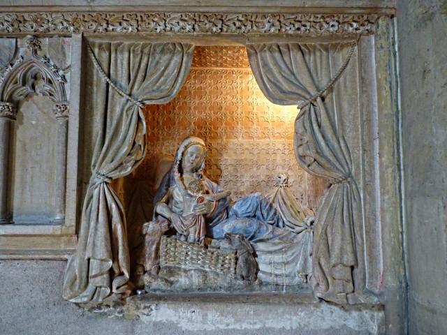 Nativité allaitante église Saint-Martin Metz 11 Marc de M