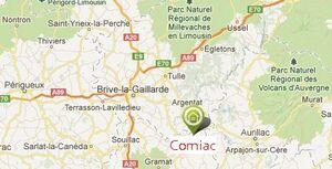Randonnée circuit de Comiac (Lot)
