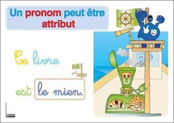 un pronom peut être attribut