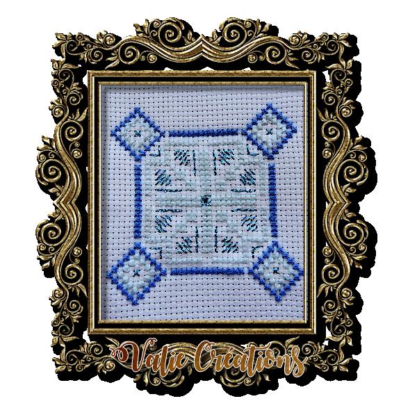 Biscornus pour cartes de Voeux (2)