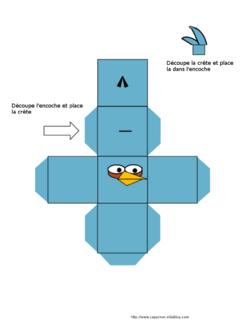 Construire des solides avec Angry Birds
