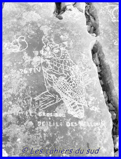Pierres gravées du Garlaban