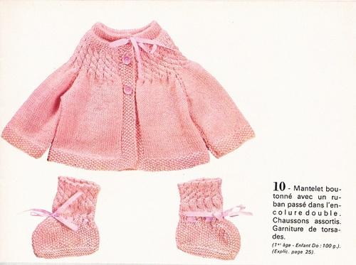 Layette: tricot ou crochet