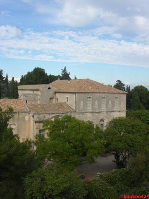 Echappée belle Avignonnaise. Le fort Saint-André. (fin)