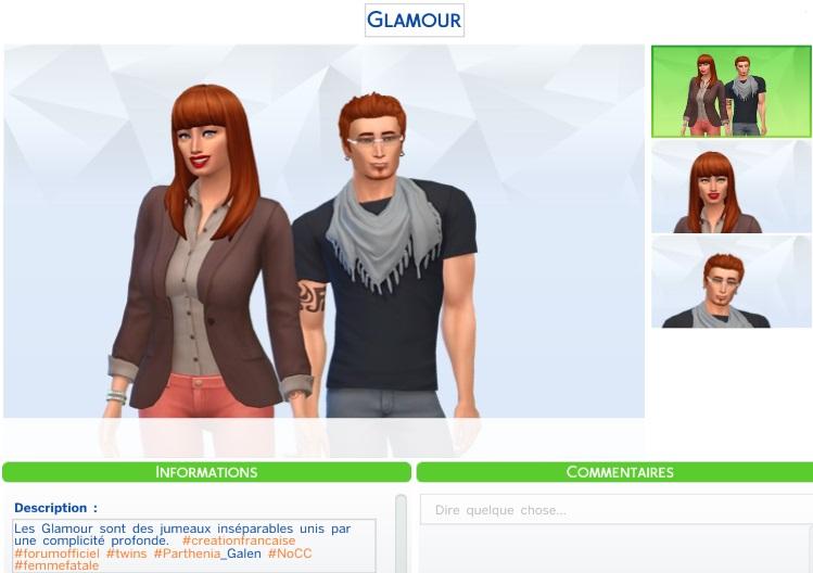 Les jumeaux Glamour
