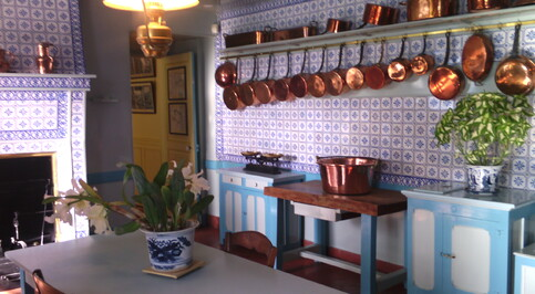 La cuisine de Monet