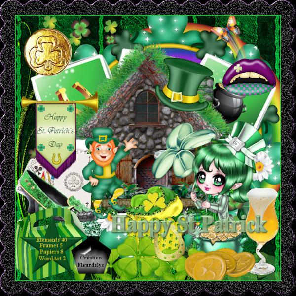 Kit Scrap St Patrick