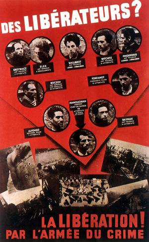 L'affiche rouge - film de Franck Cassenti (1973)