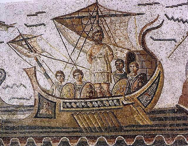 le bateau d'Ulysse