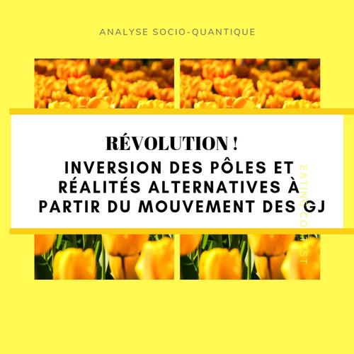 Inversion des pôles et réalités alternatives à partir du mouvement des GJ + révolution plutôt que manifestation