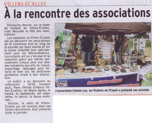 Article Courrier Cauchois - septembre 2017