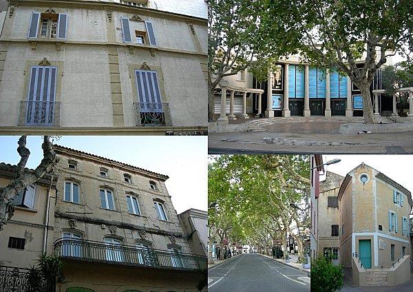 théâtre et belles façades