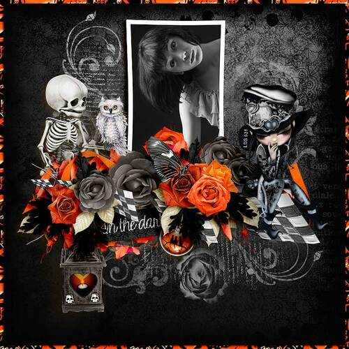 In The Dark by dentelle scrap