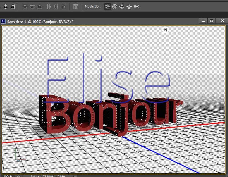 68 Première approche de La 3D