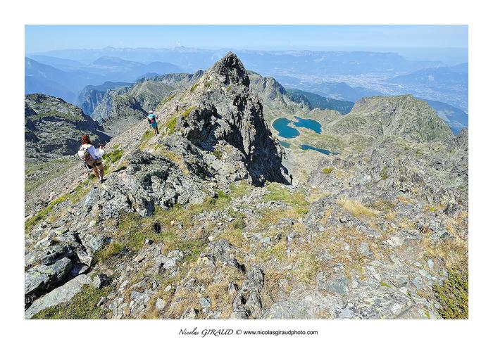 Belledonne des lacs Robert au Grand Vans