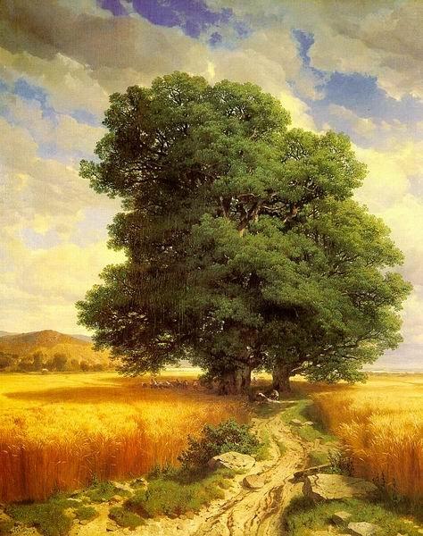Landscape_with_Oak_Trees