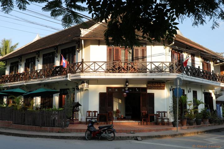 Maisons typiques de Luang Prabang, Laos