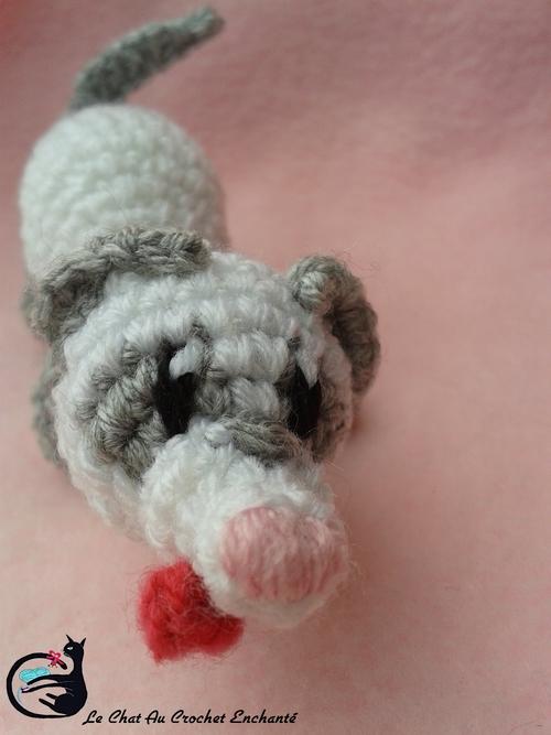 My Little Fouif II ( Furet au crochet Masque en V )